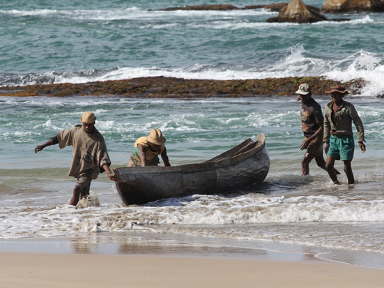 Fishermen in Manafiafy