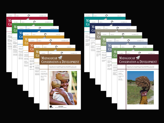 MCD, Madagascar Conservation & Development Volume 9|Issue 1