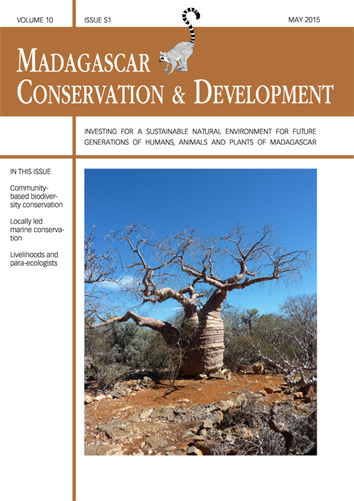 Madagascar Conservation & Development, Volume 10 Issue S1