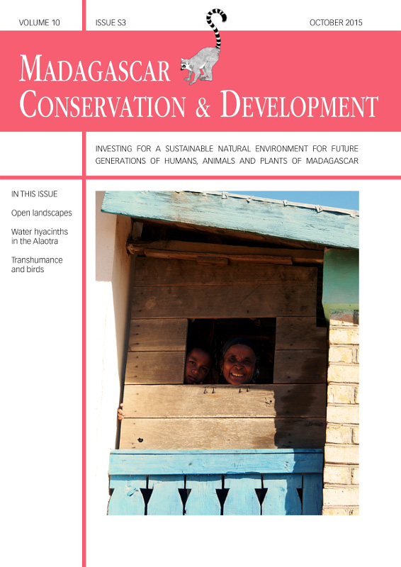 Madagascar Conservation & Development Volume 10, Issue S3