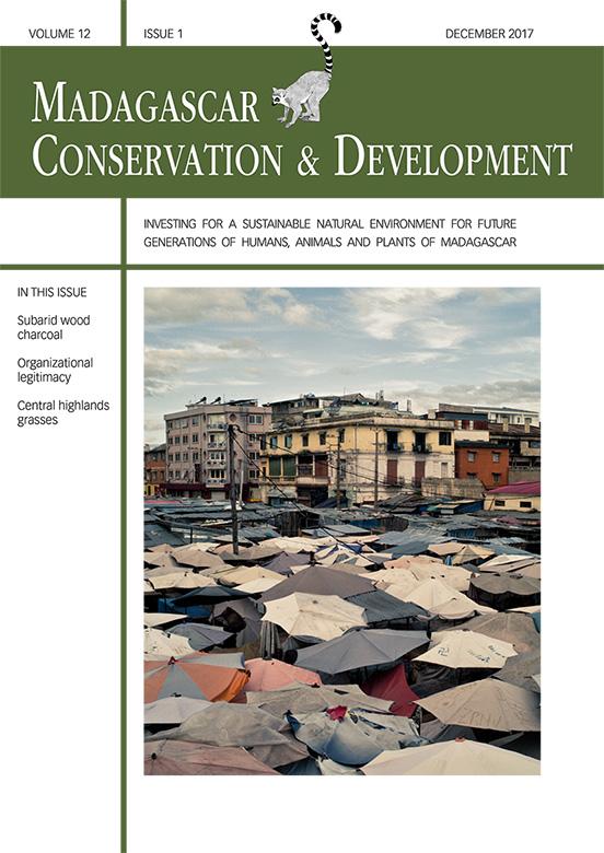 Madagascar Conservation & Development Volume 12, Issue 1