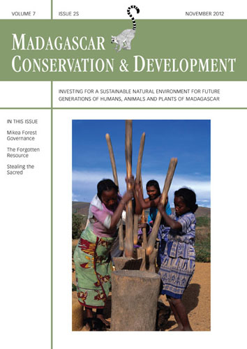 Voices from Madagascar's forests. Special Issue. Journal MCD.