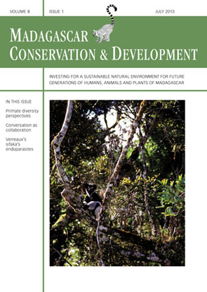 Whole Issue Volume 8 | Issue 1; Journal Madagascar Conservation & Development