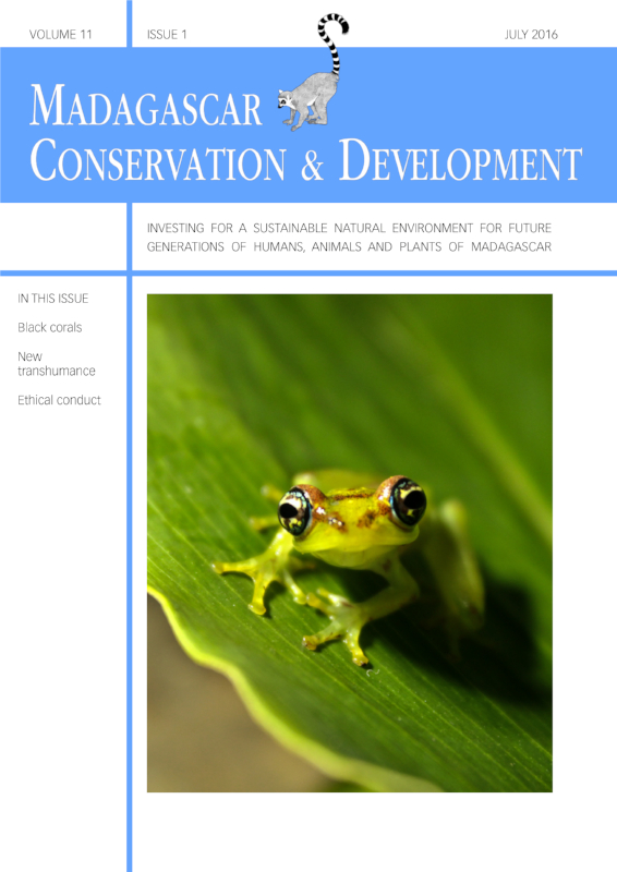 Madagascar Conservation & Development Volume 11, Issue 1