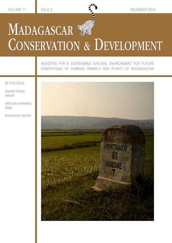 Madagascar Conservation & Development Volume 11, Issue 2